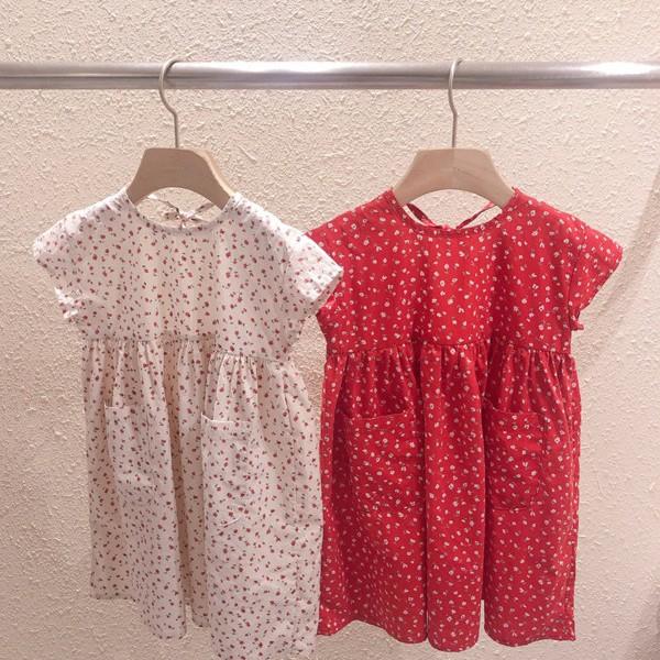 STUDIO M - BRAND - Korean Children Fashion - #Kfashion4kids - Cherry One-piece