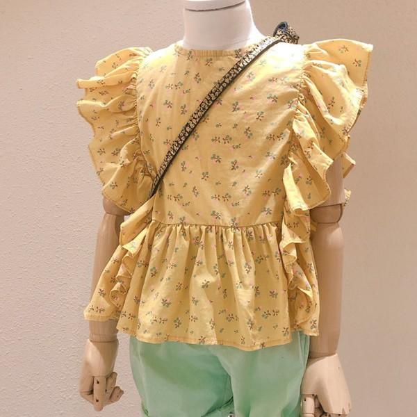 STUDIO M - BRAND - Korean Children Fashion - #Kfashion4kids - Ruffle Blouse
