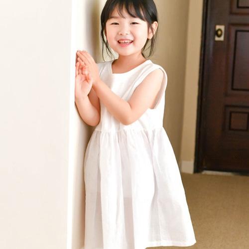 WANDOOKONG - BRAND - Korean Children Fashion - #Kfashion4kids - Spoon Sleeveless One-piece