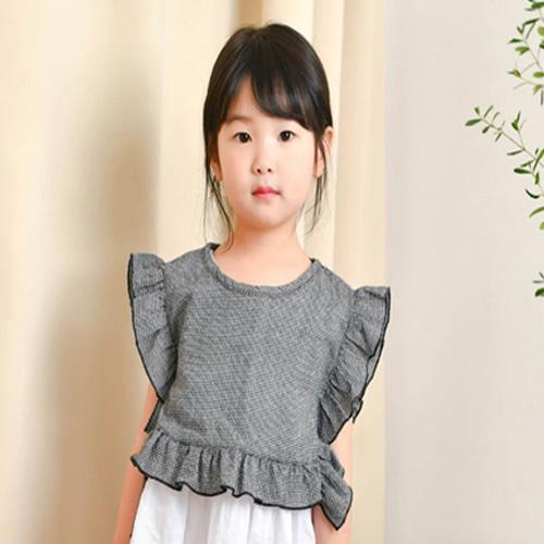 WANDOOKONG - BRAND - Korean Children Fashion - #Kfashion4kids - Magarine Check Blouse