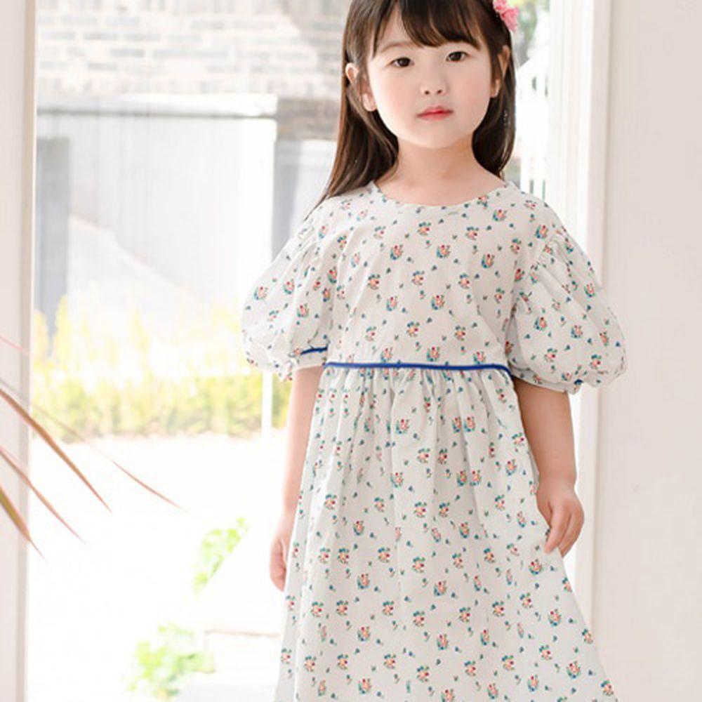 WANDOOKONG - BRAND - Korean Children Fashion - #Kfashion4kids - Daisy Colored One-piece