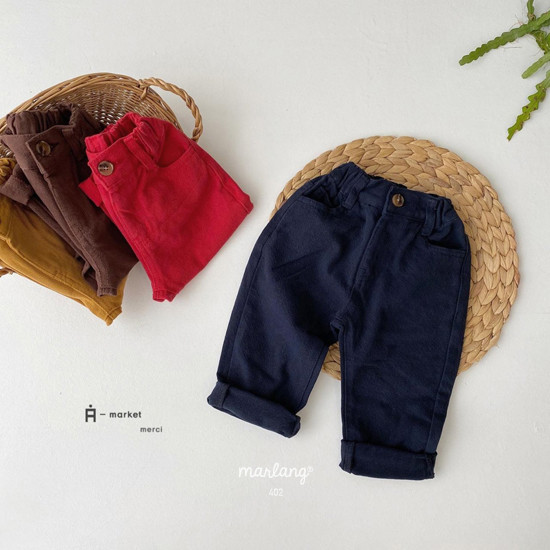 A-MARKET - Korean Children Fashion - #Kfashion4kids - Isabel Cotton Pants - 2