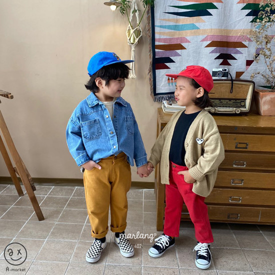 A-MARKET - Korean Children Fashion - #Kfashion4kids - Isabel Cotton Pants - 3