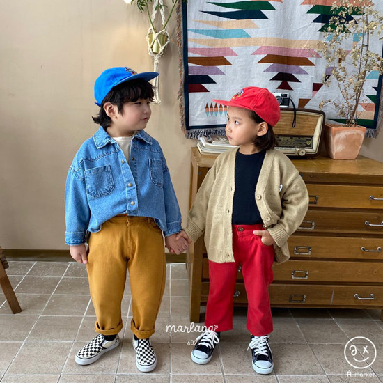 A-MARKET - Korean Children Fashion - #Kfashion4kids - Isabel Cotton Pants - 4