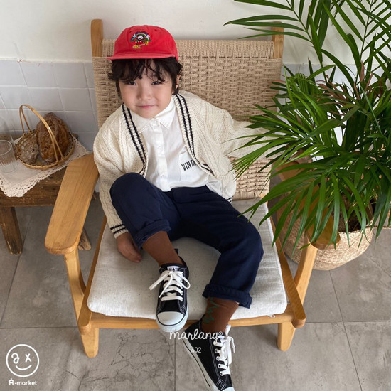 A-MARKET - Korean Children Fashion - #Kfashion4kids - Isabel Cotton Pants - 6