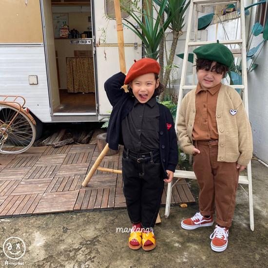 A-MARKET - Korean Children Fashion - #Kfashion4kids - Stitch Cotton Pants - 11