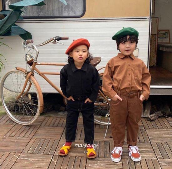 A-MARKET - Korean Children Fashion - #Kfashion4kids - Stitch Cotton Pants - 5
