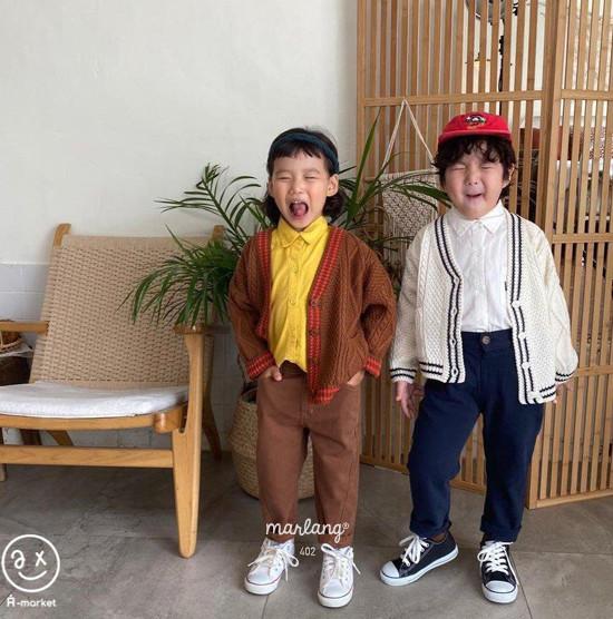 A-MARKET - Korean Children Fashion - #Kfashion4kids - Stitch Cotton Pants - 8