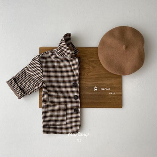 A-MARKET - Korean Children Fashion - #Kfashion4kids - Check Remer Jacket
