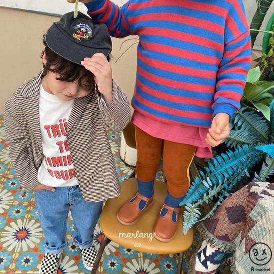 A-MARKET - Korean Children Fashion - #Kfashion4kids - Check Remer Jacket - 11
