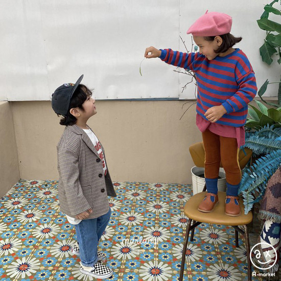 A-MARKET - Korean Children Fashion - #Kfashion4kids - Check Remer Jacket - 12