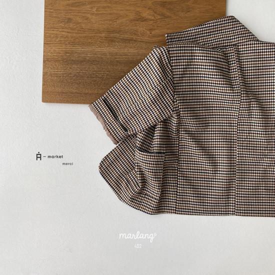 A-MARKET - Korean Children Fashion - #Kfashion4kids - Check Remer Jacket - 2