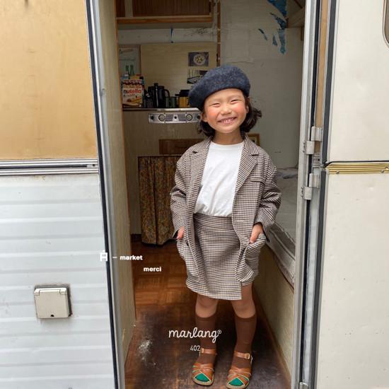A-MARKET - Korean Children Fashion - #Kfashion4kids - Check Remer Jacket - 6