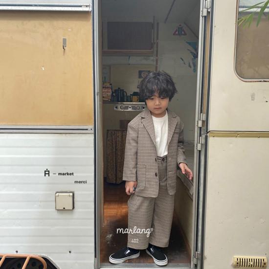 A-MARKET - Korean Children Fashion - #Kfashion4kids - Check Remer Jacket - 7