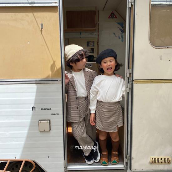 A-MARKET - Korean Children Fashion - #Kfashion4kids - Check Remer Jacket - 8