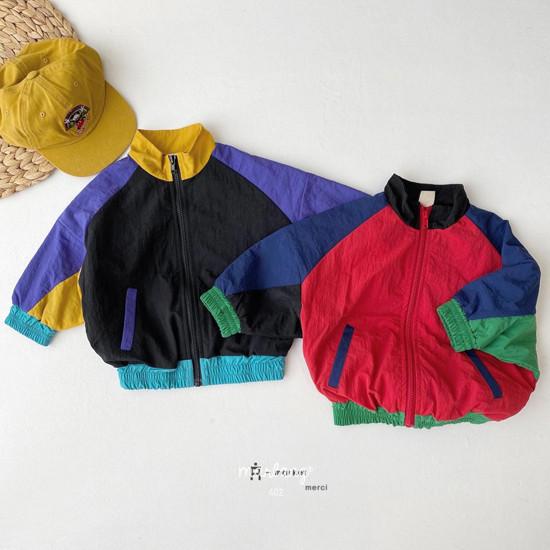 A-MARKET - Korean Children Fashion - #Kfashion4kids - Colored Windbreaker