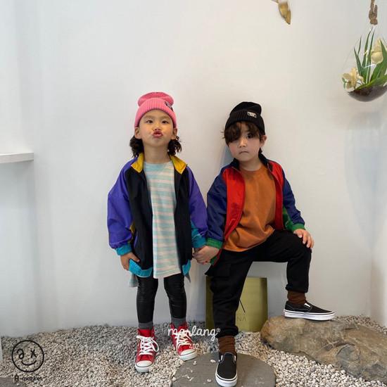 A-MARKET - Korean Children Fashion - #Kfashion4kids - Colored Windbreaker - 10
