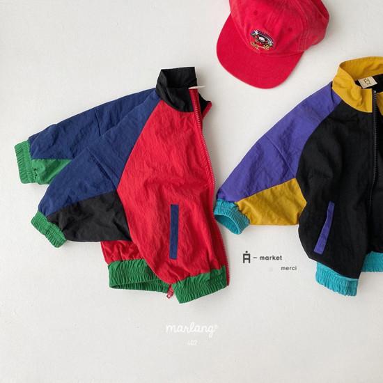 A-MARKET - Korean Children Fashion - #Kfashion4kids - Colored Windbreaker - 11