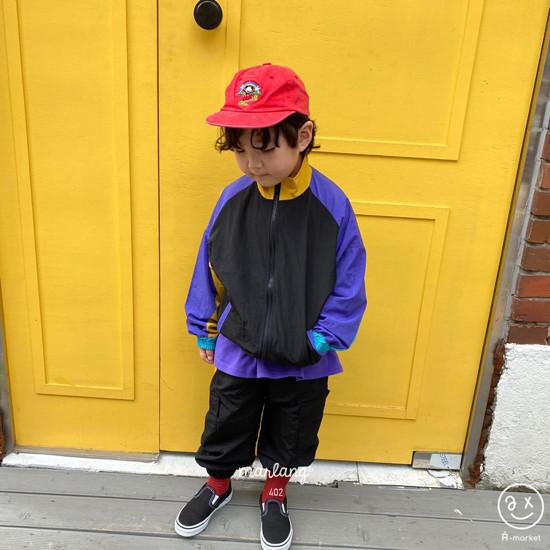 A-MARKET - Korean Children Fashion - #Kfashion4kids - Colored Windbreaker - 4