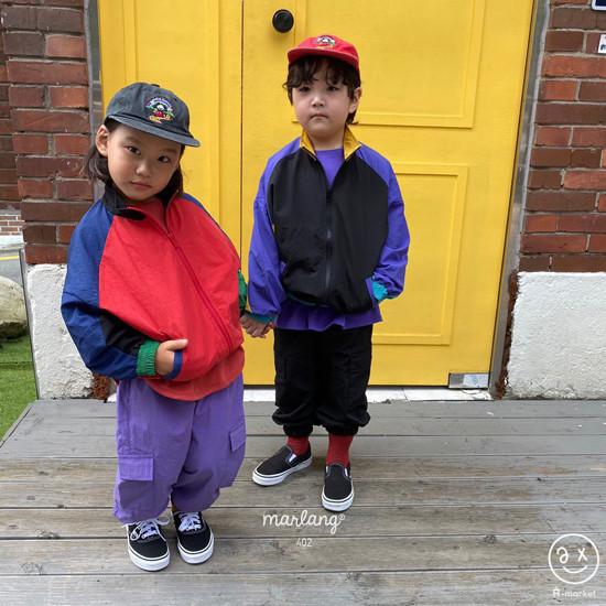 A-MARKET - Korean Children Fashion - #Kfashion4kids - Colored Windbreaker - 6