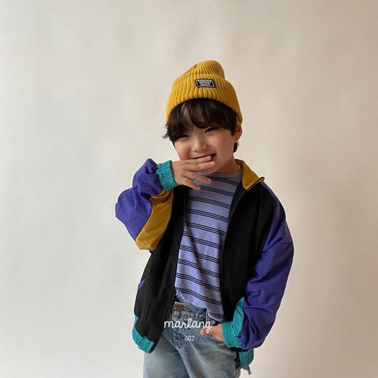 A-MARKET - Korean Children Fashion - #Kfashion4kids - Colored Windbreaker - 8