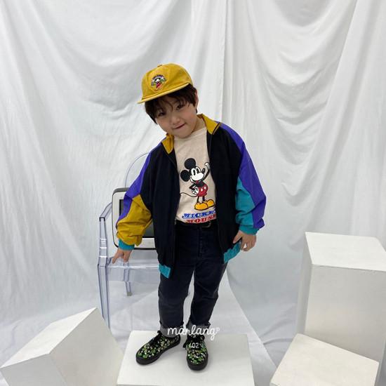 A-MARKET - Korean Children Fashion - #Kfashion4kids - Colored Windbreaker - 9