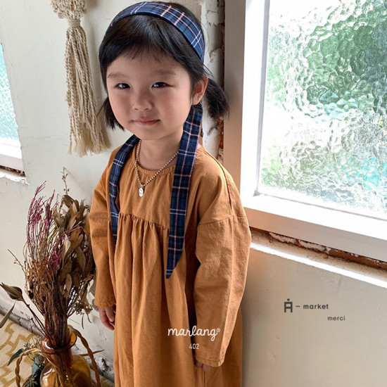 A-MARKET - Korean Children Fashion - #Kfashion4kids - Check Hairband - 7