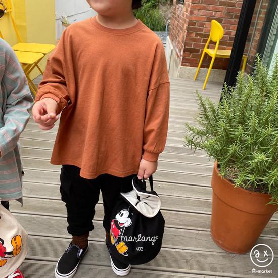 A-MARKET - Korean Children Fashion - #Kfashion4kids - Boxy Tee - 11