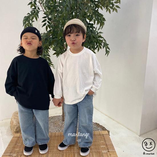 A-MARKET - Korean Children Fashion - #Kfashion4kids - Boxy Tee - 2