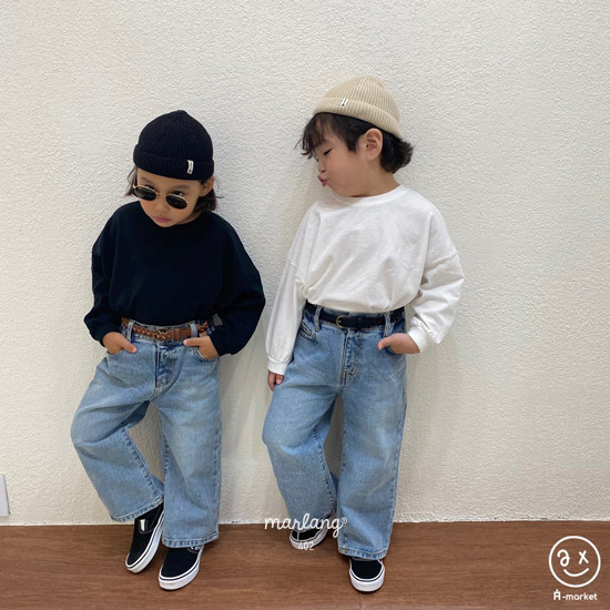 A-MARKET - Korean Children Fashion - #Kfashion4kids - Boxy Tee - 3