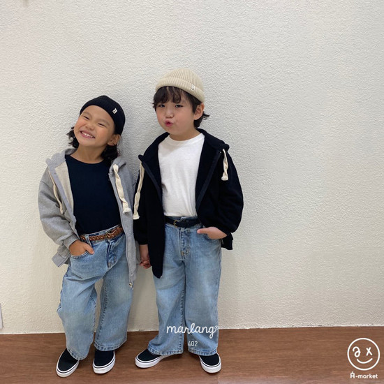 A-MARKET - Korean Children Fashion - #Kfashion4kids - Boxy Tee - 4