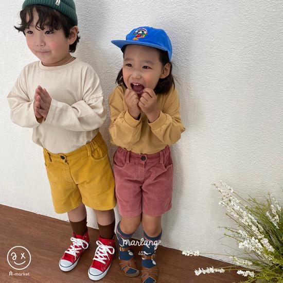 A-MARKET - Korean Children Fashion - #Kfashion4kids - Boxy Tee - 5
