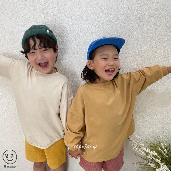 A-MARKET - Korean Children Fashion - #Kfashion4kids - Boxy Tee - 6