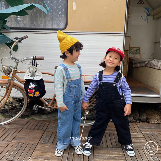 A-MARKET - Korean Children Fashion - #Kfashion4kids - Three Lines Boxy Tee - 10