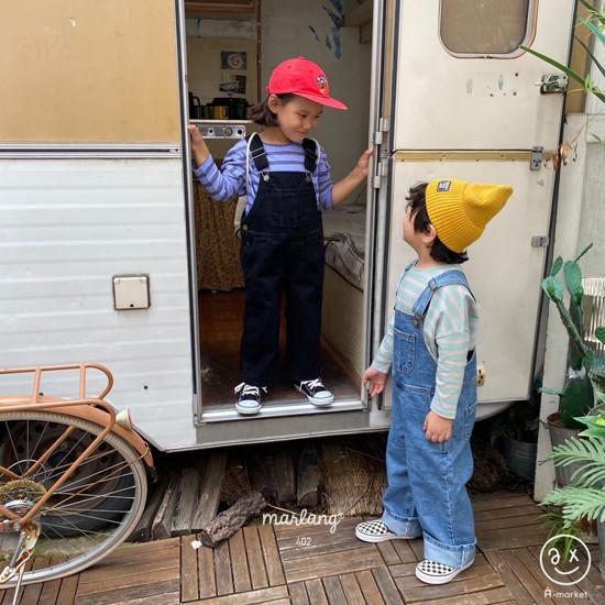 A-MARKET - Korean Children Fashion - #Kfashion4kids - Three Lines Boxy Tee - 11