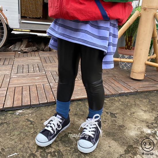 A-MARKET - Korean Children Fashion - #Kfashion4kids - Three Lines Boxy Tee - 5