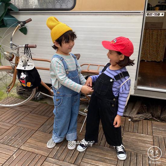 A-MARKET - Korean Children Fashion - #Kfashion4kids - Three Lines Boxy Tee - 9