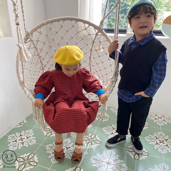 A-MARKET - Korean Children Fashion - #Kfashion4kids - Volumn One-piece - 10