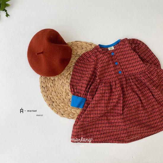 A-MARKET - Korean Children Fashion - #Kfashion4kids - Volumn One-piece - 2