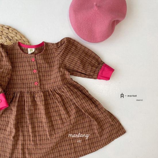 A-MARKET - Korean Children Fashion - #Kfashion4kids - Volumn One-piece - 3
