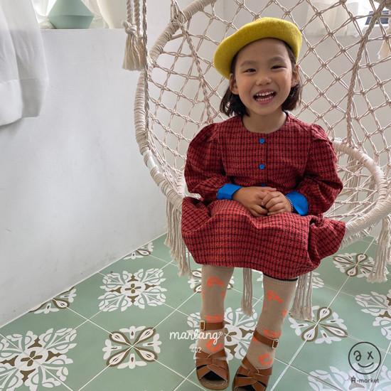 A-MARKET - Korean Children Fashion - #Kfashion4kids - Volumn One-piece - 4