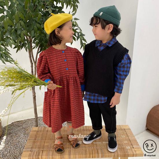 A-MARKET - Korean Children Fashion - #Kfashion4kids - Volumn One-piece - 5