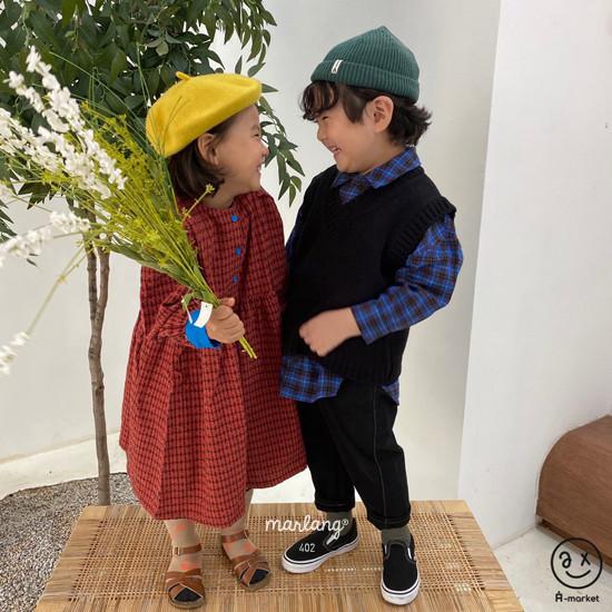 A-MARKET - Korean Children Fashion - #Kfashion4kids - Volumn One-piece - 6