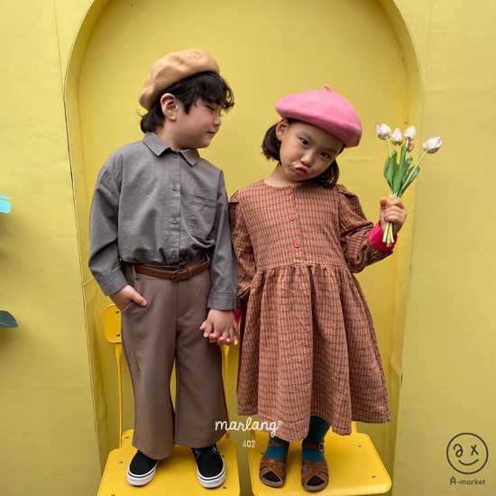 A-MARKET - Korean Children Fashion - #Kfashion4kids - Volumn One-piece - 7