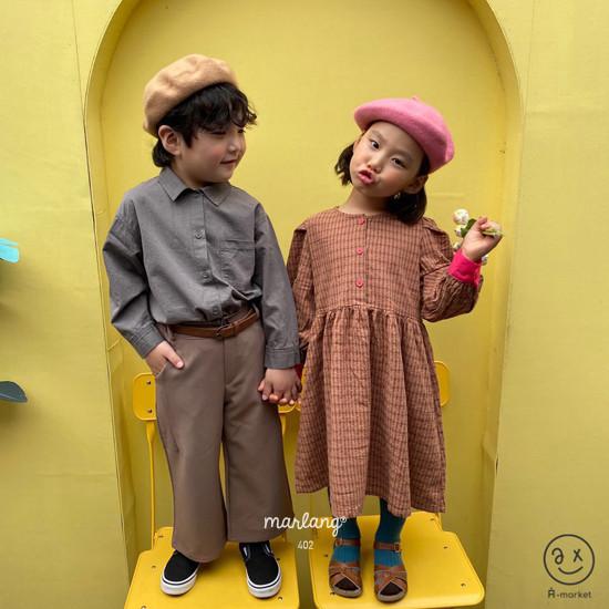 A-MARKET - Korean Children Fashion - #Kfashion4kids - Volumn One-piece - 8