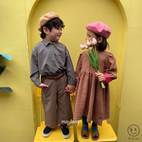 A-MARKET - Korean Children Fashion - #Kfashion4kids - Volumn One-piece - 9