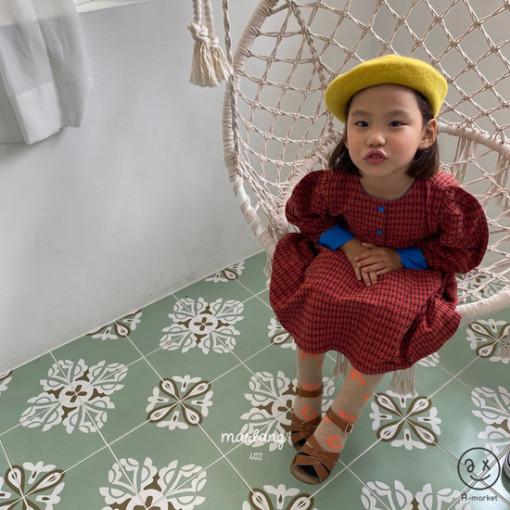 A-MARKET - BRAND - Korean Children Fashion - #Kfashion4kids - Volumn One-piece