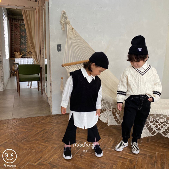 A-MARKET - Korean Children Fashion - #Kfashion4kids - Long Shirt - 12