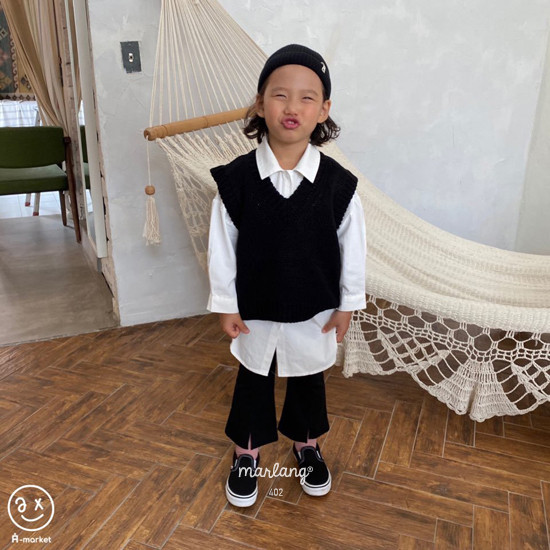 A-MARKET - Korean Children Fashion - #Kfashion4kids - Long Shirt - 4