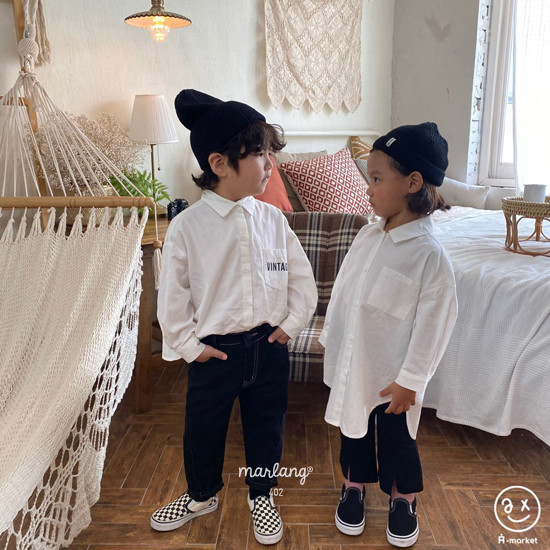 A-MARKET - Korean Children Fashion - #Kfashion4kids - Long Shirt - 7